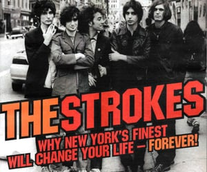 magazine and the strokes image