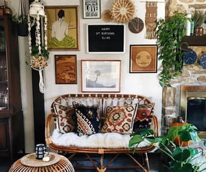 apartment, eclectic, and home decor image
