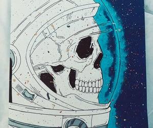 art, arts, and astronaut image