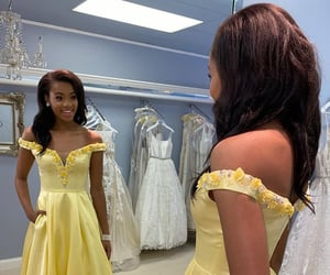 beauty, evening gown, and formal wear image