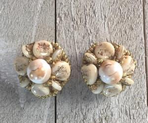 designer, cluster earrings, and earrings vintage image
