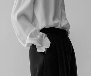 dark, fashion, and white image
