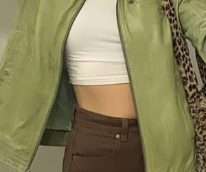 90s, brown, and fashion image
