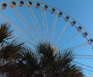 beach, North Carolina, and ferris wheel image