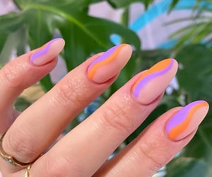 colors, nails, and stylé image