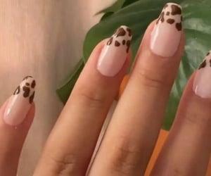 2020, long nails, and nails image