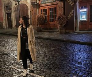 fashion, prague, and walk image
