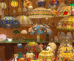 colorful and lamp image