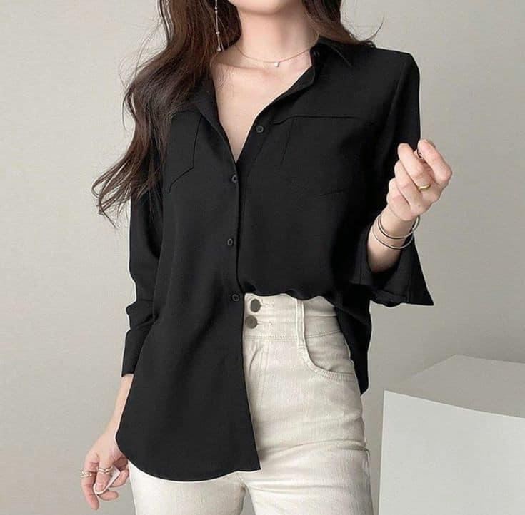 black and shirt image