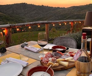 food, view, and love image