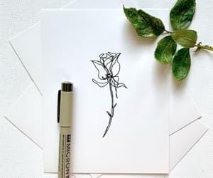 art, line art, and rose image