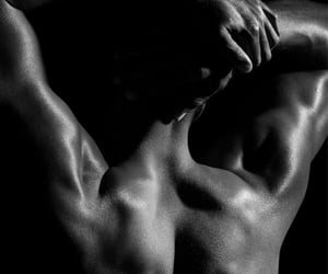 aesthetic, back muscles, and boy image