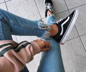 casual, denim, and fashion image