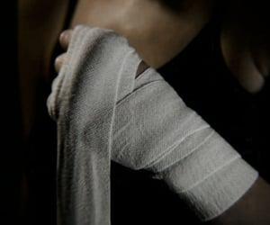 bandage, girl, and aesthetic image