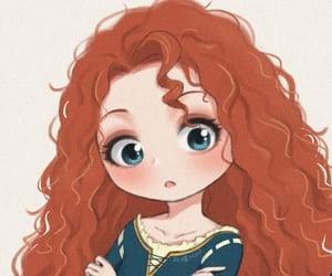 chibi, dibujo, and princesas image
