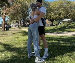 boyfriend, couple, and cuddles image