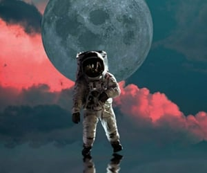 3d, full moon, and hq image
