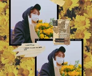 kpop, yellow, and hermoso image