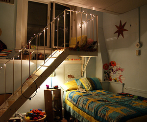 alternative, bed, and bedroom image