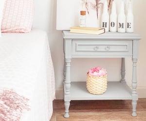 Bureau, grey, and vintage furniture image