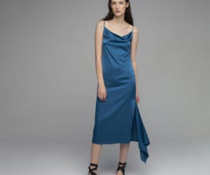 sleeveless shirt dress image