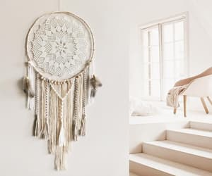 bedroom decor, bohemian, and dream catcher image