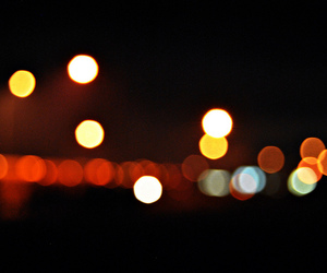bokeh, city, and light image