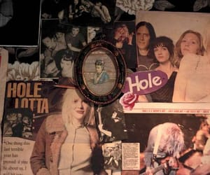 90's, Courtney Love, and hole image