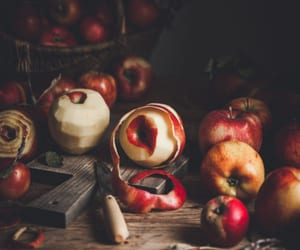 apples, autumn, and baking image