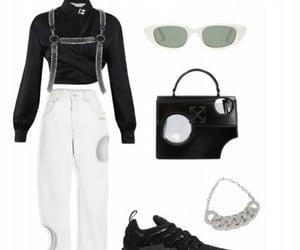 black&white, drip, and fashion image
