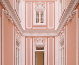 hotel, lisbon, and pink image