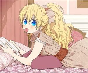anime girl, athanasia, and who made me a princess image