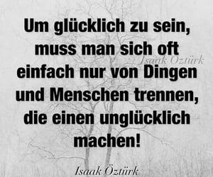 glücklich, unglücklich, and deutsch image