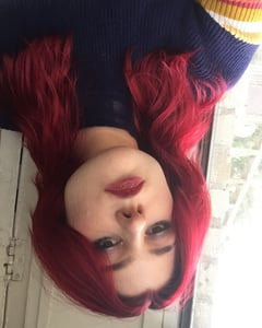 alt, makeup, and red hair image