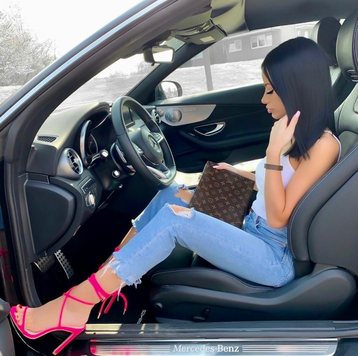 cars, fashion, and luxurious image