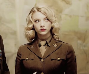 captain america and Natalie Dormer image
