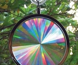 suncatcher, reflections, and colors image