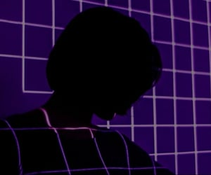 aesthetic, grid, and purple image
