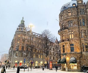 architecture, places, and snow image