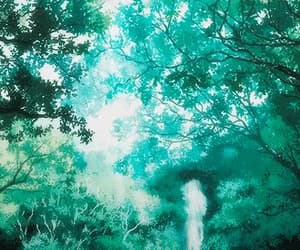 anime, gif, and scenery image