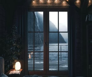 bedroom, bed, and view image