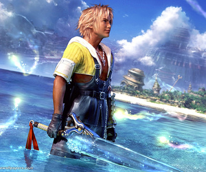 final fantasy and tidus image