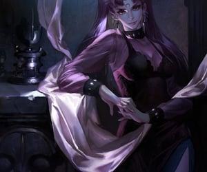dark lady and sailor moon image