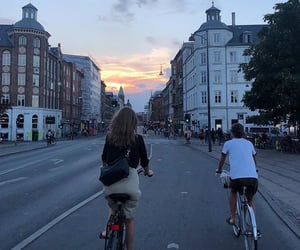 bike, friends, and aesthetic image