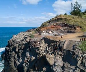 sea, australia, and hill image