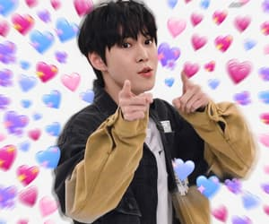 edit, heart, and jungwoo image