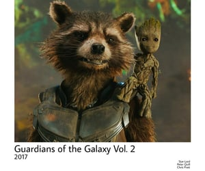 Marvel, rocket, and groot image