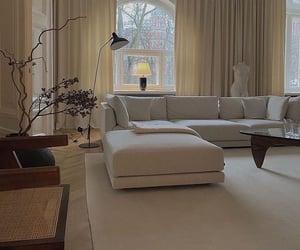 minimalistic, interior design, and living room image