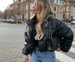 outfit, chanel bag, and fashion image
