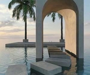 aesthetics, location, and ocean image